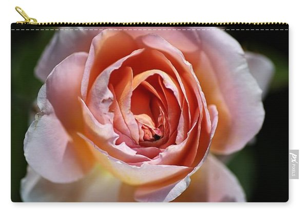 Single Romantic Rose  Carry-all Pouch