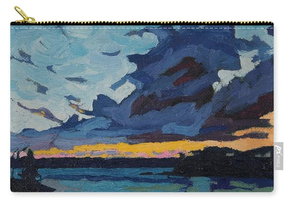 Singleton Sunset Stratocumulus Carry-all Pouch