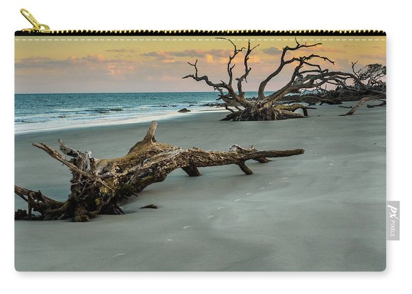 Sunset On Jekyll Island Carry-all Pouch