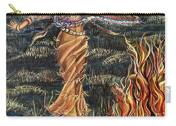Sioux Woman Dancing Carry-all Pouch