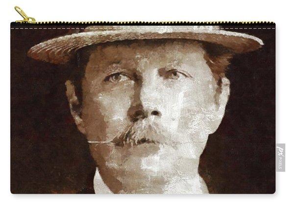 Sir Arthur Conan Doyle By Mary Bassett Carry-all Pouch