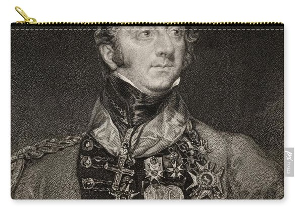 Sir Charles William Doyle,1770-1842 Carry-all Pouch