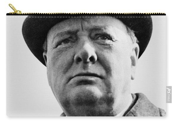 Sir Winston Churchill Carry-all Pouch