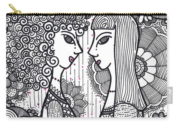 Sisters - Ink Carry-all Pouch