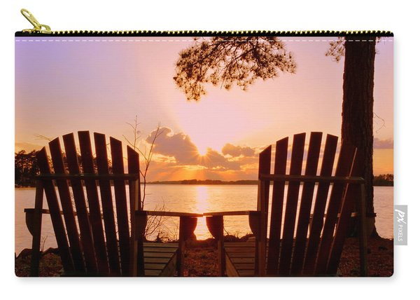 Sit Down And Relax Carry-all Pouch