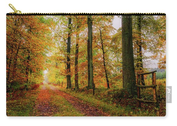 Carry-all Pouch featuring the photograph Site 6 by Dmytro Korol