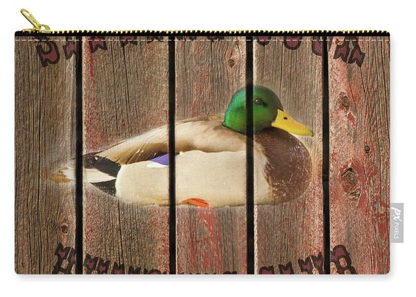 Sitting Duck Hunting Club Carry-all Pouch