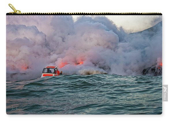 Carry-all Pouch featuring the photograph Six Pac by Jim Thompson