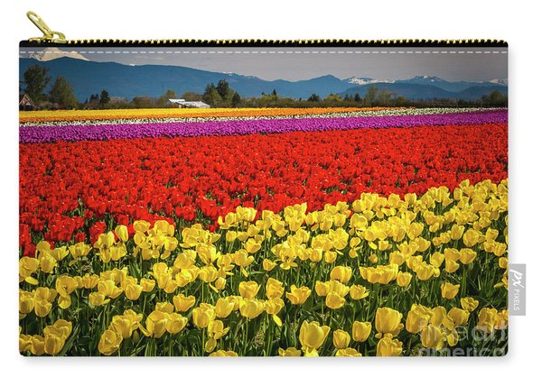 Skagit Valley Tulips  Carry-all Pouch