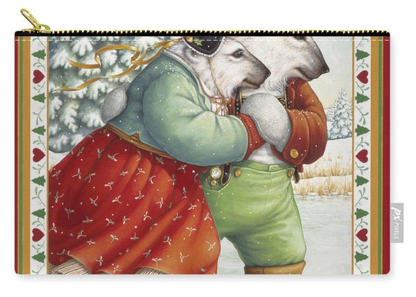 Skating Bears Carry-all Pouch