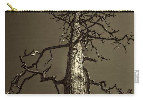 Skeletal Tree Sedona Arizona Carry-all Pouch