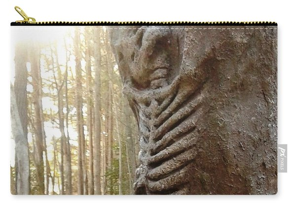 Skeleton Tree Carry-all Pouch