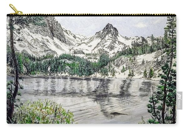 Carry-all Pouch featuring the painting Skelton Lake by Kevin Daly