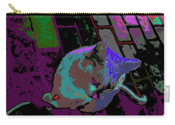 Skid Row Kitten Carry-all Pouch