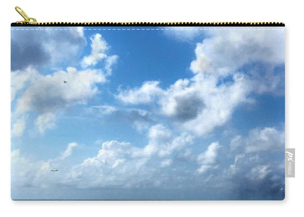 Skies Over The Gulf Carry-all Pouch