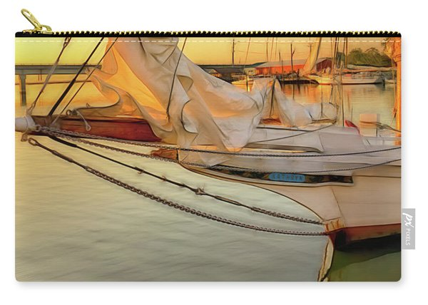 Skipjack At Sunrise  Carry-all Pouch