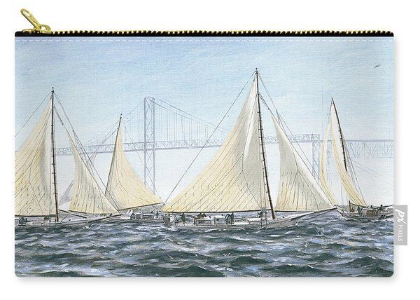Skipjacks Racing Chesapeake Bay Maryland Detail Carry-all Pouch