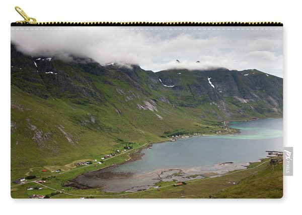 Skjelfjord From Volandstinden Carry-all Pouch