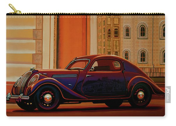 Skoda Popular Sport Monte Carlo 1935 Painting Carry-all Pouch