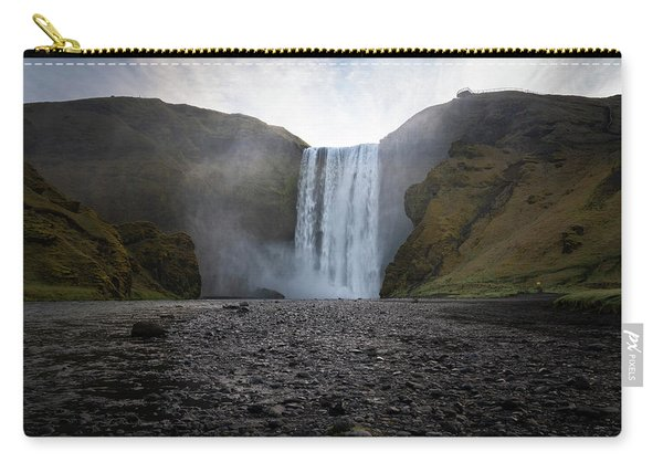 Skogafoss Waterfall In Iceland Carry-all Pouch