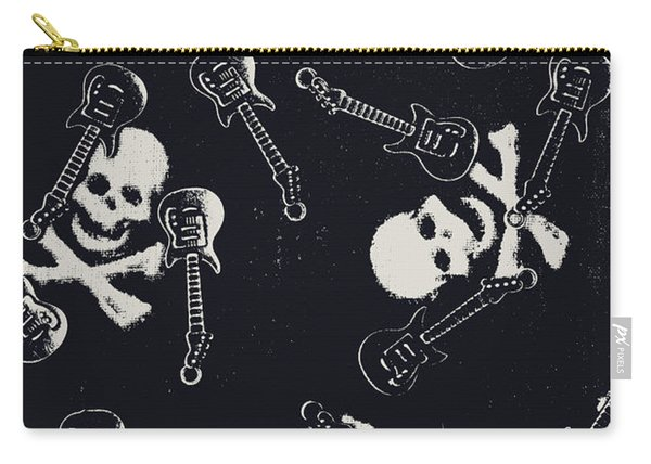 Skull Rockers Art Carry-all Pouch