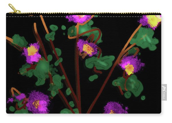 Skull Vase Carry-all Pouch