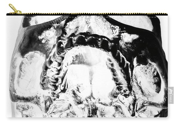 Skulls And Dental Records Carry-all Pouch