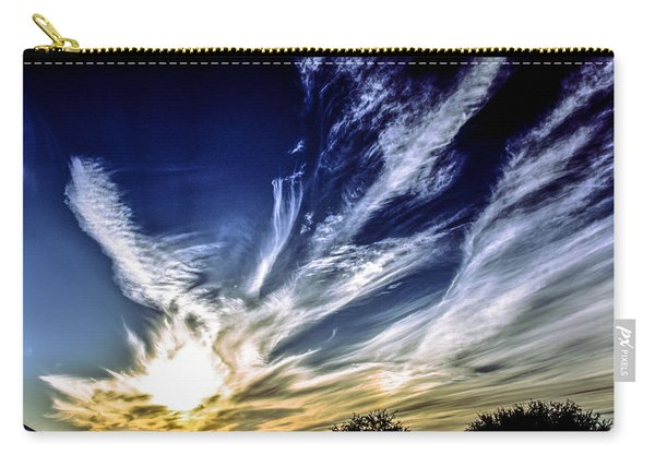 Sky Artistry Over Chandler Arizona Carry-all Pouch