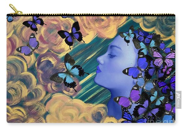 Sky Maiden Carry-all Pouch