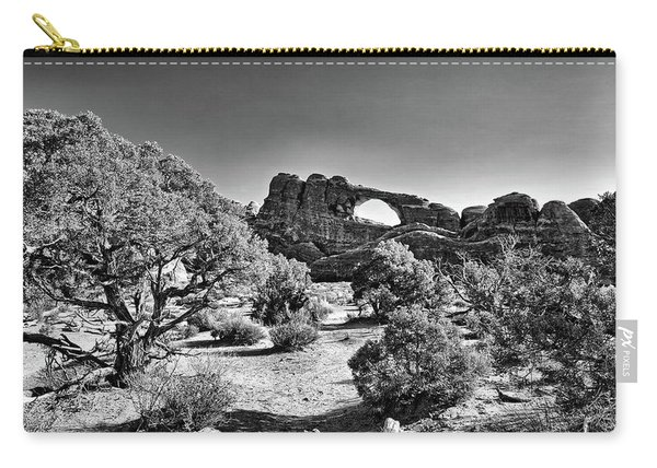 Skyline Arch In Arches National Park Carry-all Pouch