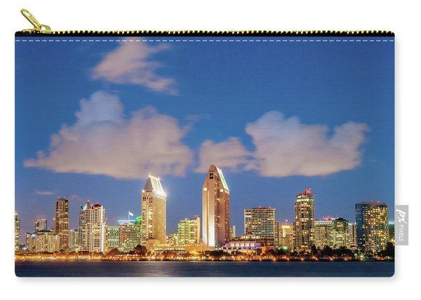 Skyline In The Wind Carry-all Pouch