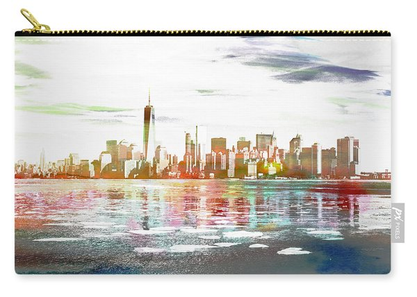 Skyline Of New York City, United States Carry-all Pouch