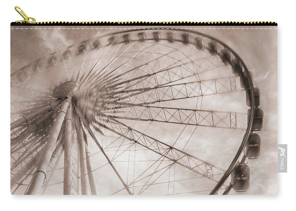 Skywheel In Niagara Falls Carry-all Pouch
