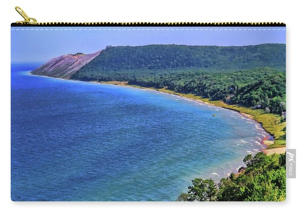 Sleeping Bear Dunes National Lakeshore Panorama Carry-all Pouch
