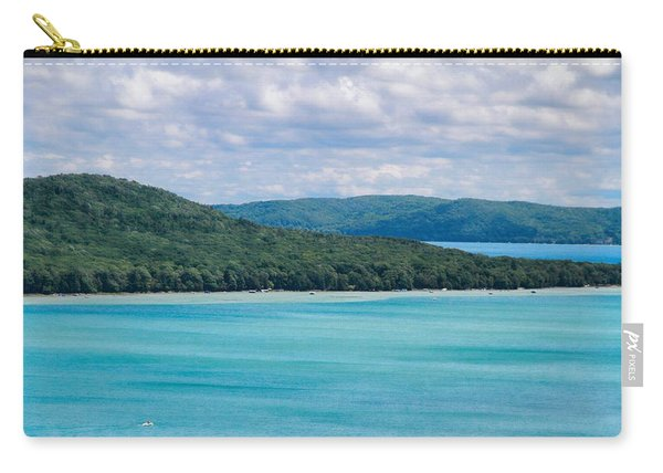Sleeping Bear Dunes Scenic Overlook On Lake Michigan Carry-all Pouch