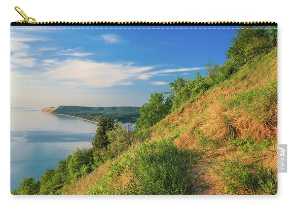 Sleeping Bear Lakeshore View From Empire Bluff Carry-all Pouch