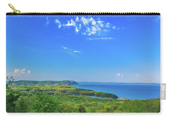 Sleeping Bear Overlook Panorama Carry-all Pouch