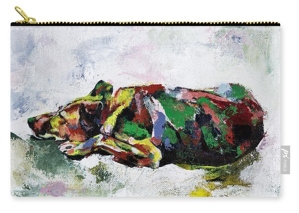 Sleeping Dog_2 Carry-all Pouch