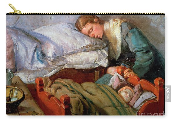 Sleeping Mother, 1883 Carry-all Pouch