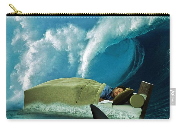 Sleeping With Sharks Carry-all Pouch