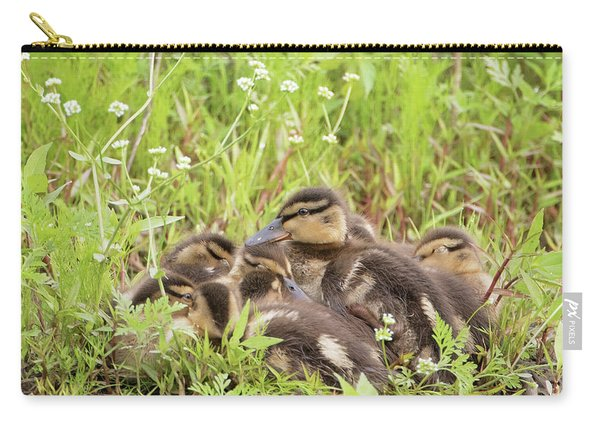 Sleepy Ducklings Carry-all Pouch