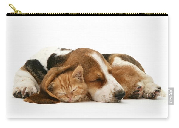 Sleepy Ginger Pals Carry-all Pouch