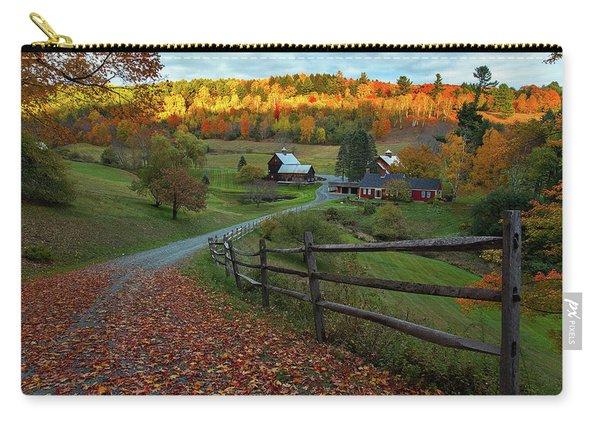 Sleepy Hollow Farm- Pomfret Vt Carry-all Pouch