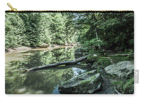 Slippery Rock Gorge - 1944 Carry-all Pouch