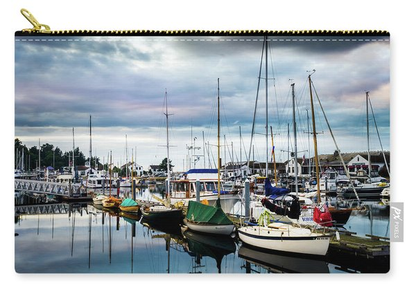 Slips At Point Hudson Marina Carry-all Pouch