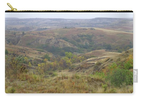 Slope County In The Rain Carry-all Pouch