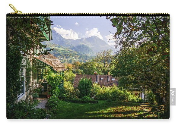 Carry-all Pouch featuring the photograph Slow Down by Dmytro Korol