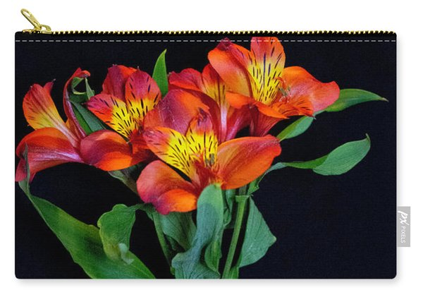 Small Bouquet Of Flowers Carry-all Pouch