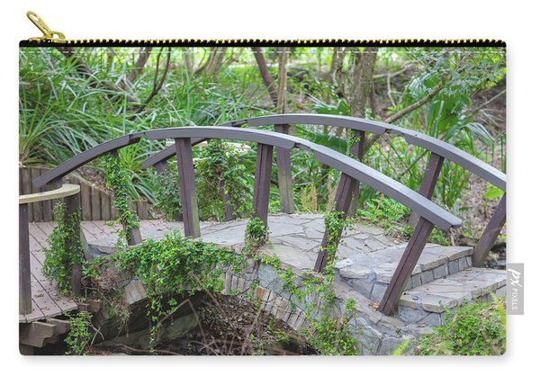 Carry-all Pouch featuring the photograph Small Brown Bridge by Raphael Lopez