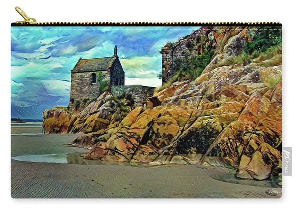 Small Chapel At The Mont Saint Michel Abbey Carry-all Pouch